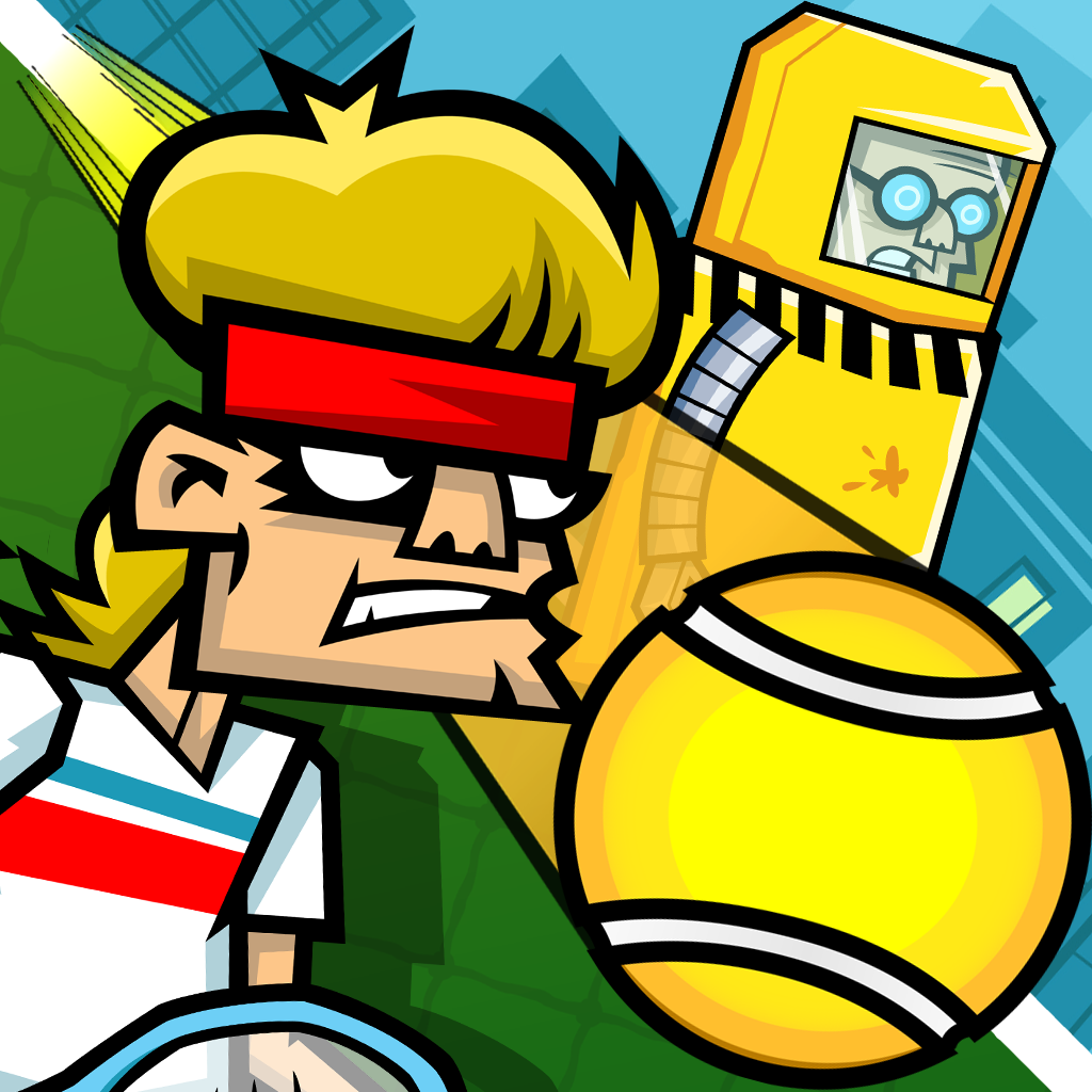 Tennis in the Face iOS